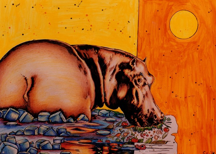Яркий сюрреализм в искусстве Эда Нэроу (Ed Narrow) - ice (700x500, 119Kb)