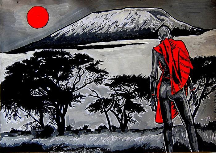 Яркий сюрреализм в искусстве Эда Нэроу (Ed Narrow) - kilimanjaro- (700x495, 172Kb)