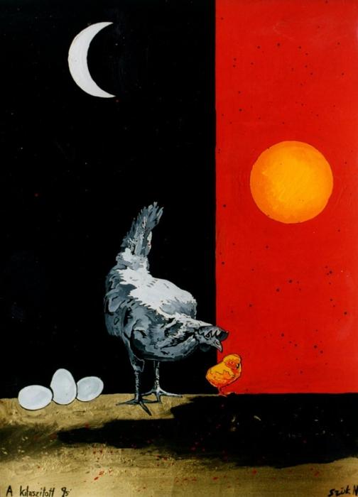 Яркий сюрреализм в искусстве Эда Нэроу (Ed Narrow) - kotkot (504x700, 170Kb)