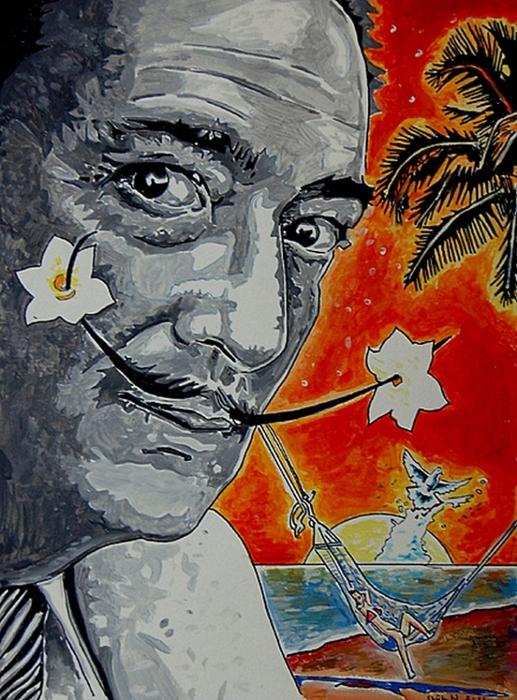 Яркий сюрреализм в искусстве Эда Нэроу (Ed Narrow) - Roaring Freedom (517x700, 330Kb)