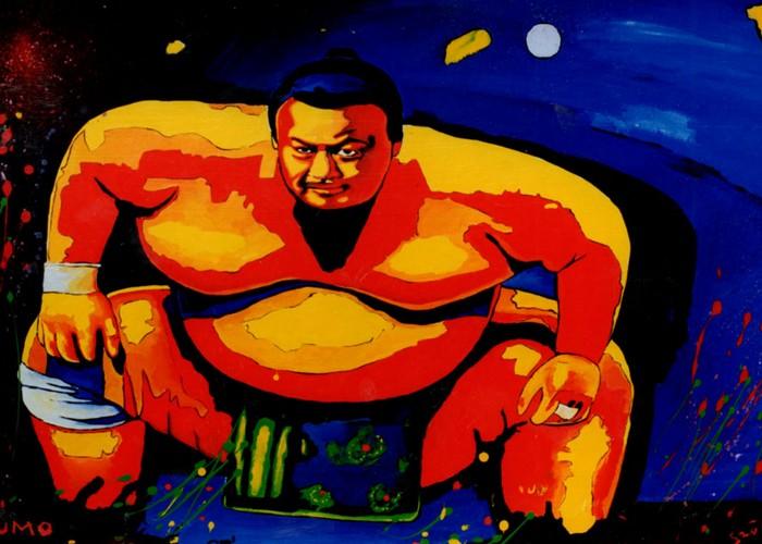 Яркий сюрреализм в искусстве Эда Нэроу (Ed Narrow) - sumo (700x500, 106Kb)