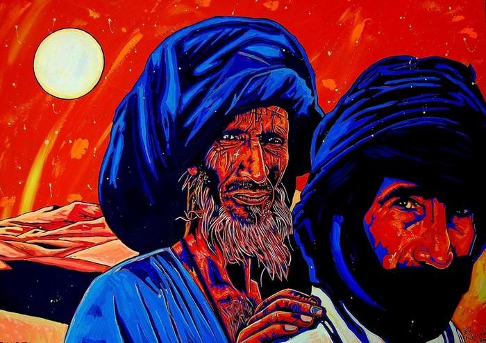 Яркий сюрреализм в искусстве Эда Нэроу (Ed Narrow) - Tuaregs-2009 (700x494, 127Kb)