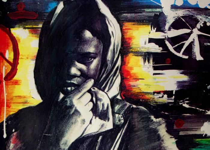 Яркий сюрреализм в искусстве Эда Нэроу (Ed Narrow) - Where is peace yo (700x500, 117Kb)