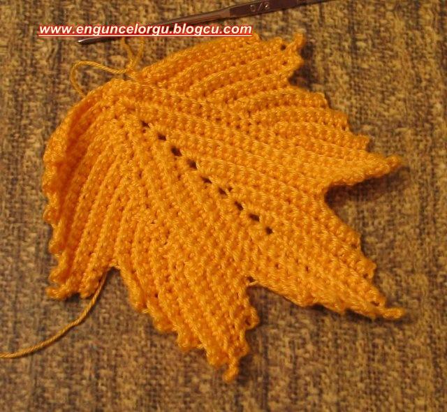 Кофта Осенние Листья
