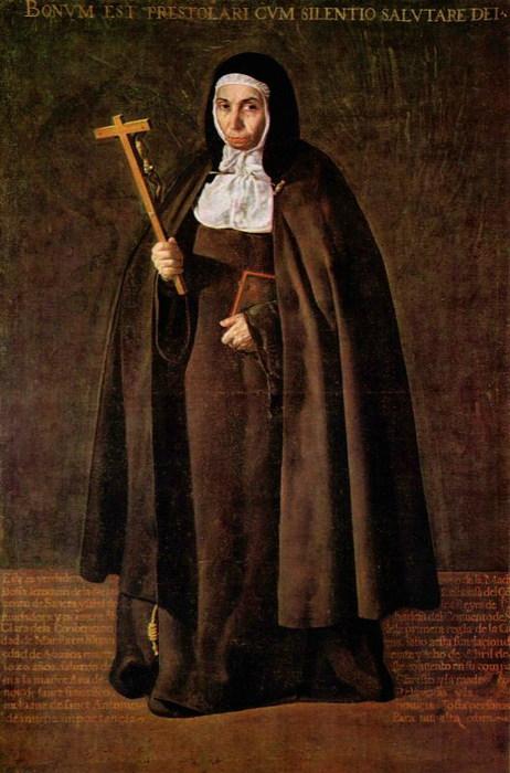 Портрет матери Херонимы де ла Фуэнте 1620 (462x700, 89Kb)