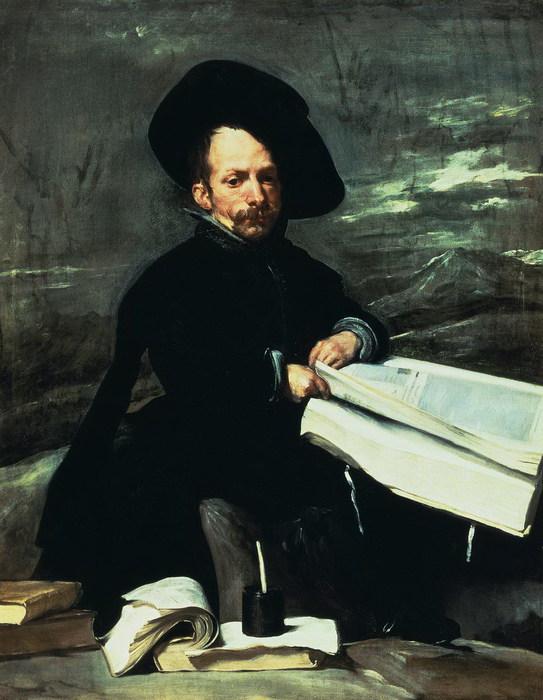 Карлик с книгой на коленях. (Дон Диего де Аседо, эль Примо) (543x700, 91Kb)