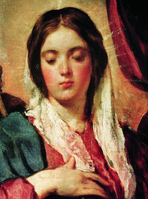 Коронация девы Марии. (Фрагмент) (521x700, 194Kb)