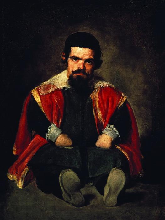 Портрет придворного карлика дона Себастьяна дель Морра (526x700, 99Kb)