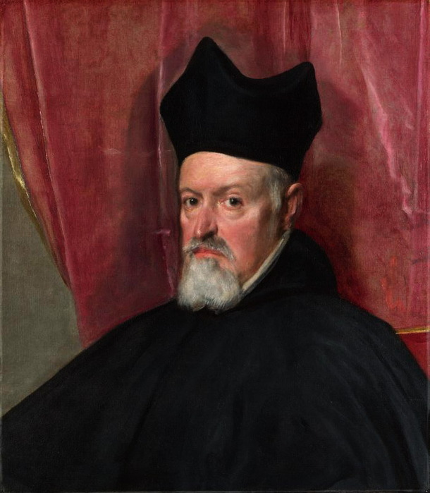 Portrait of Archbishop Fernando de Valdes (610x700, 93Kb)