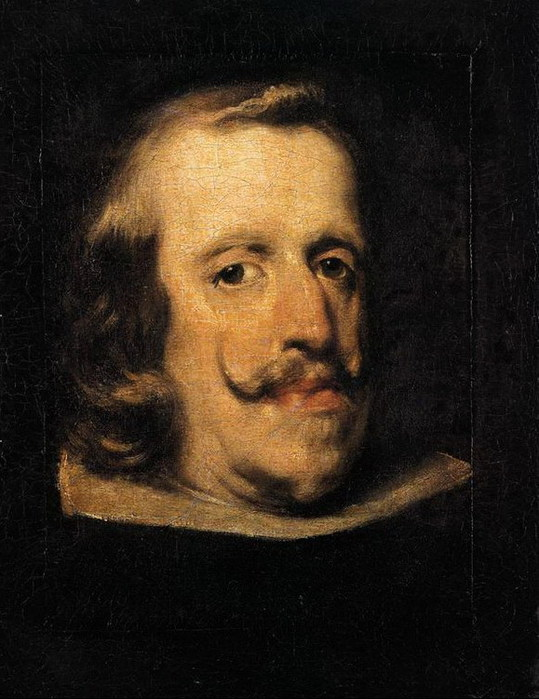 Портрет Филиппа IV (фрагмент) 1657-60 (539x700, 97Kb)