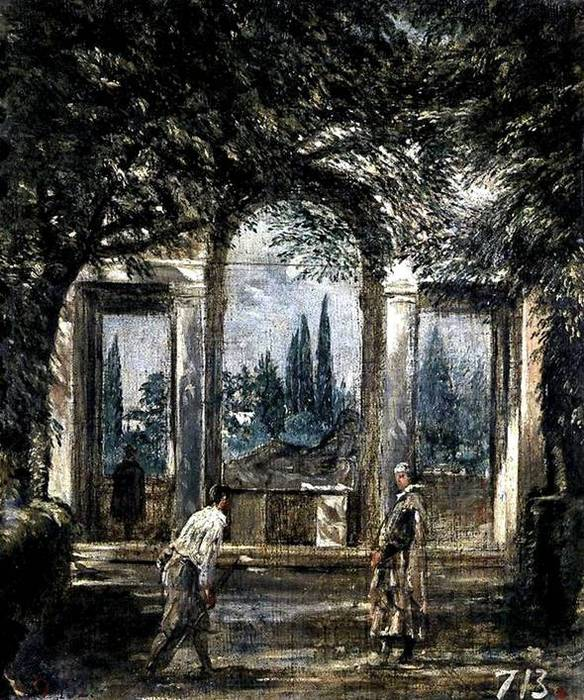 Вилла Медичи, павильон Ариадны. 1630 (584x700, 113Kb)