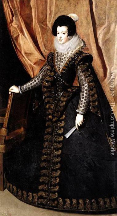 Queen-Isabel Королева Изабелла 1631-32 (380x700, 89Kb)