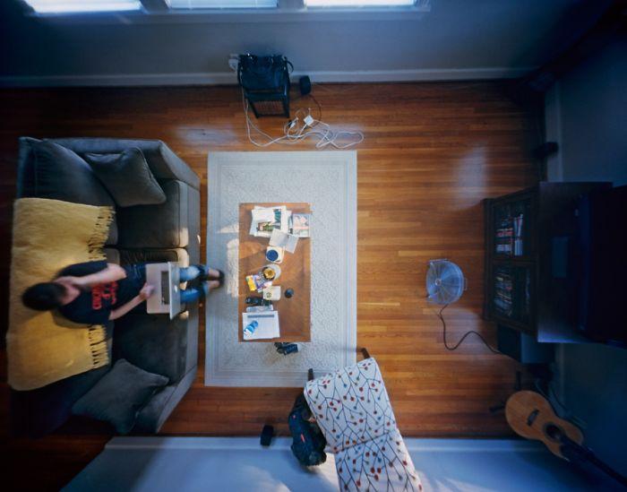 Взгляд с потолка