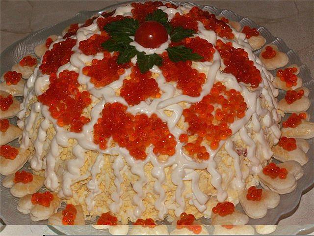Рецепты салатов в домашних условиях на день рождения