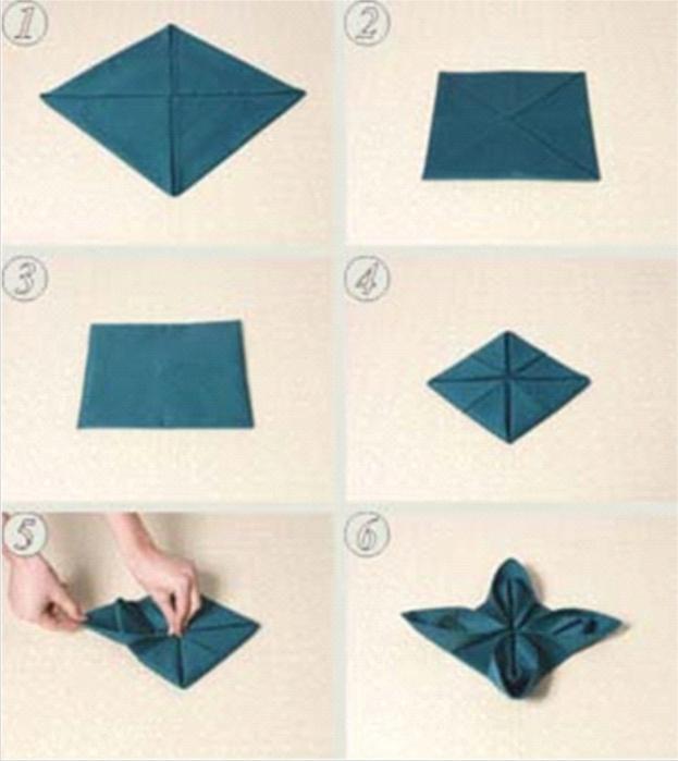 Фигурки из бумажных салфеток