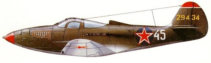 Р-39N Александра Клубова 16 ГИАП 1943 (700x211, 34Kb)