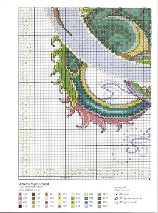 разноцветный дракон схема3jpg