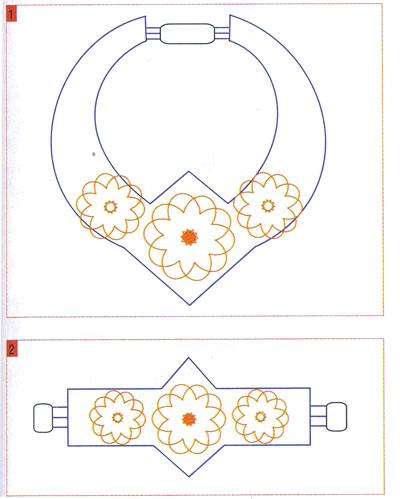 Схемы вышивки на фетре 60