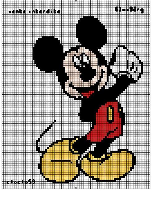 микки маус1 (493x700, 455Kb)