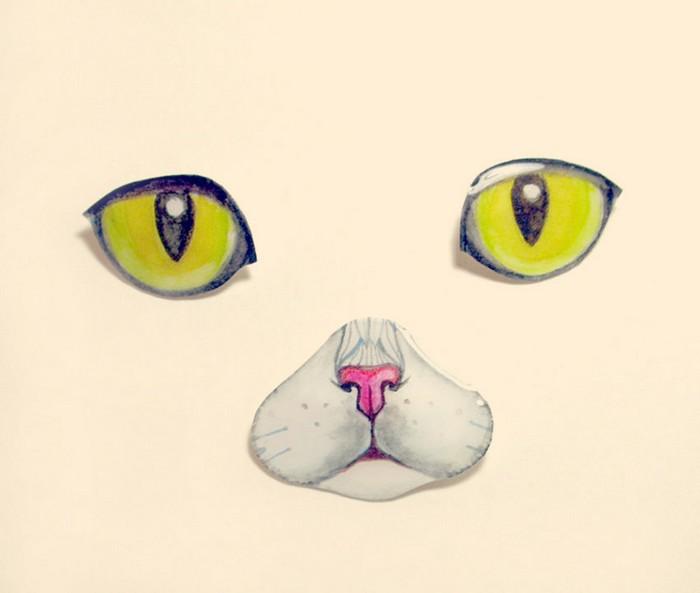 Необычные иллюстрации животных от Оли Лиола
