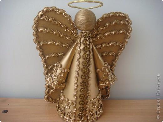 Ангел из макарон своими руками