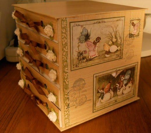 Комодик из картона своими руками - Самые красивые и креативные украшения здесь.