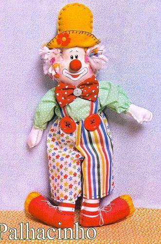 Кукла клоуна сшить своими руками