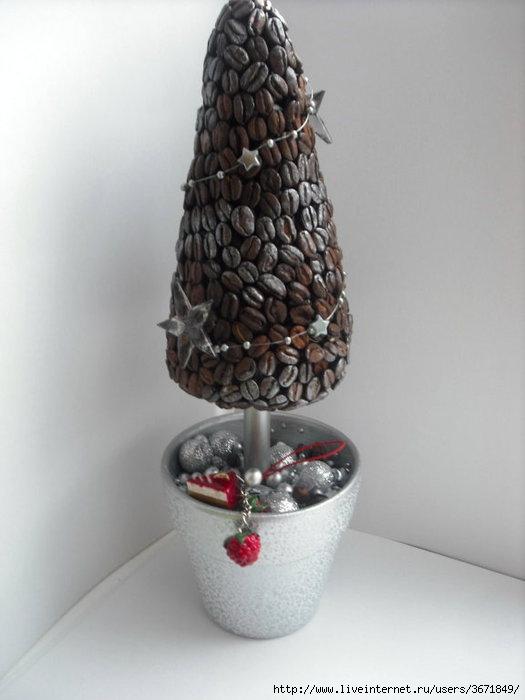 Кофейная елка своими руками » Дизайн Декор 83