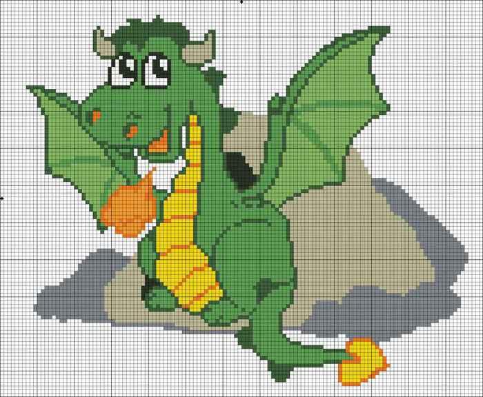 Часть 15.  Вышитые драконы.  Дракончики из бисера.