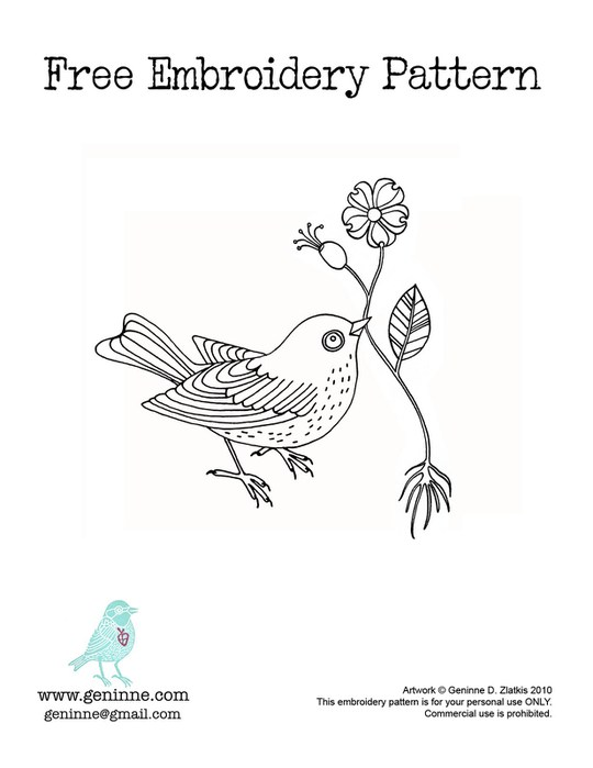 Embroidery Pattern (540x700, 43Kb)