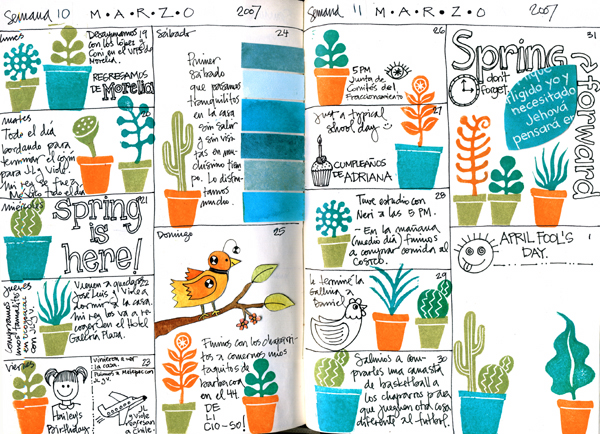 Journal pages march 19-31 07 (600x434, 330Kb)