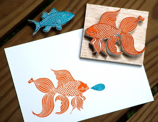 Little orange fishy (550x426, 260Kb)