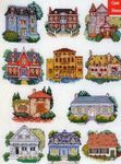 Превью DMC Creations 1922 Houses (334x449, 47Kb)
