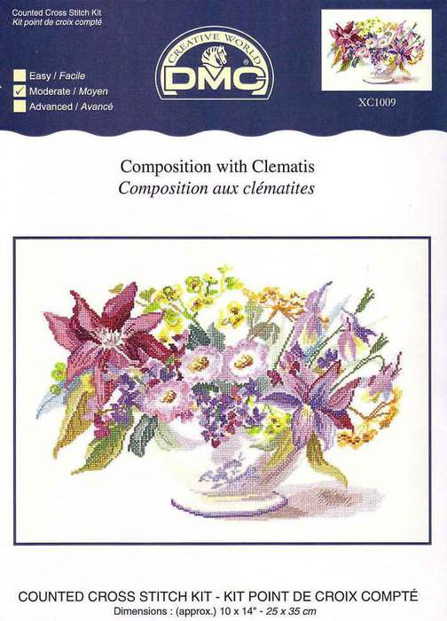 1321450237_DMC_XC1009_Composition_with_clematis (504x700, 52Kb)