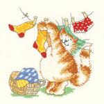 Превью Heritage-Margaret_Sherry-Calendar_Cats-CCMC810-March_Cat (300x300, 26Kb)