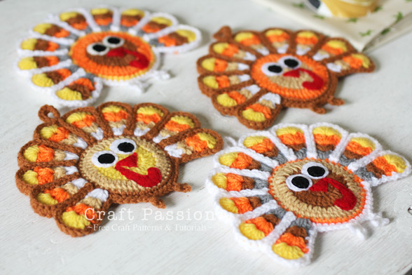 crochet-turkey-coaster-4 (588x392, 95Kb)