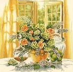 Превью Lanarte 34797 Sunny Morning (400x397, 65Kb)