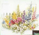 Превью Lanarte34389 Flowers at Gate (505x457, 50Kb)