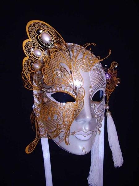 Как сделать венецианскую маску из папье маше
