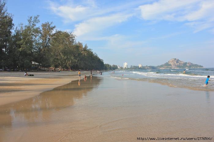 Пляж Суан Сон в 5 км от Хуахина