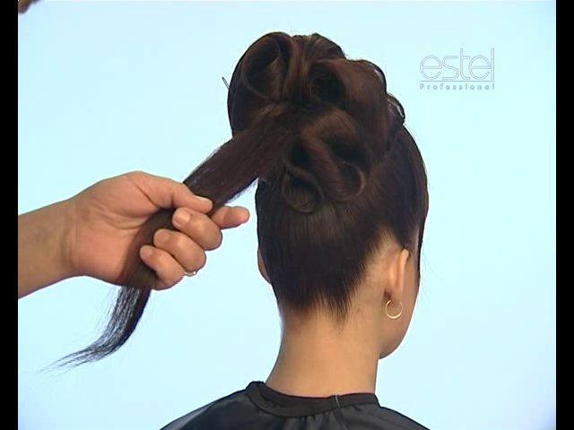 как делать прически из длинных волос видео уроки