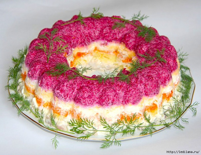 Как делать салат под шубой рецепт