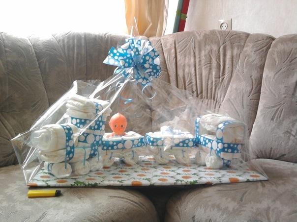 Подарок на рождение мальчика своими руками видео