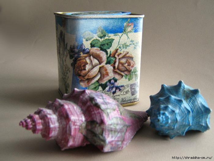 баночка цветы, акрил, декупаж, автор Shraddha (700x525, 212Kb)