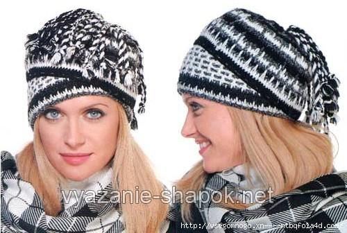 Рады преподнести читателям подарок - необычная шапка-трансформер, которую можно носить абсолютно по-разному.