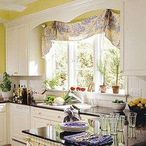 Дизайн кухонь окно с эркером