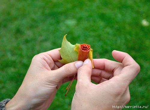 diy_leaf_rose_6 (500x367, 127Kb)