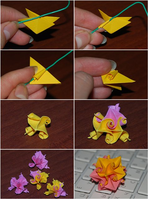 Красивые поделки из бумаги своими руками оригами