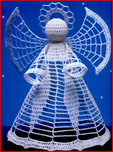 <ангел схема для вязания