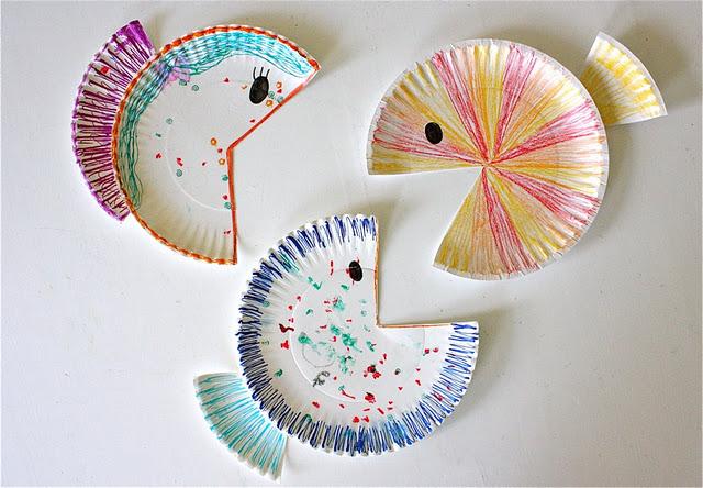Рыбки из бумаги своими руками - Поделки